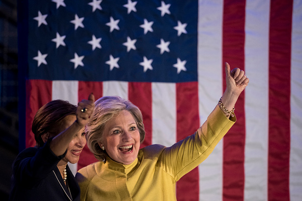 2016 United States Presidential Election「Hillary Clinton Holds Latino Organizing Event In Brooklyn」:写真・画像(12)[壁紙.com]
