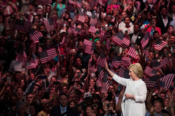 2016「Hillary Clinton Holds Primary Night Event In Brooklyn, New York」:写真・画像(5)[壁紙.com]
