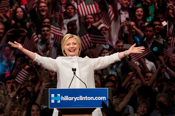 2016「Hillary Clinton Holds Primary Night Event In Brooklyn, New York」:写真・画像(10)[壁紙.com]