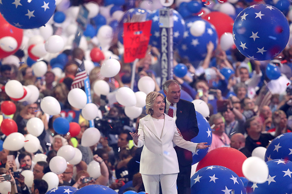 Timothy Kaine「Democratic National Convention: Day Four」:写真・画像(12)[壁紙.com]