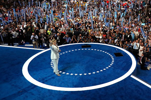 Win McNamee「Democratic National Convention: Day Four」:写真・画像(17)[壁紙.com]