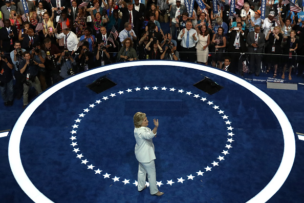 Win McNamee「Democratic National Convention: Day Four」:写真・画像(18)[壁紙.com]