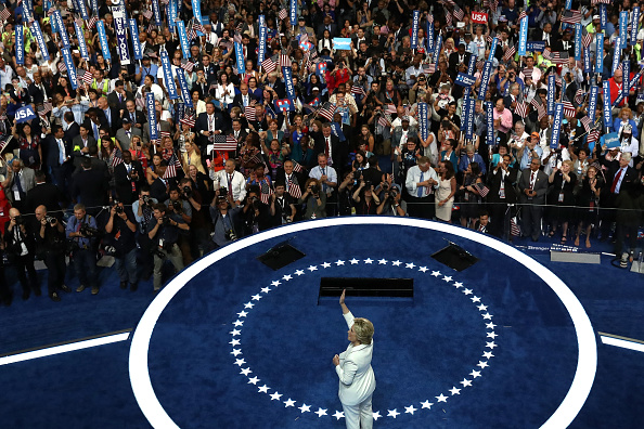 Win McNamee「Democratic National Convention: Day Four」:写真・画像(19)[壁紙.com]