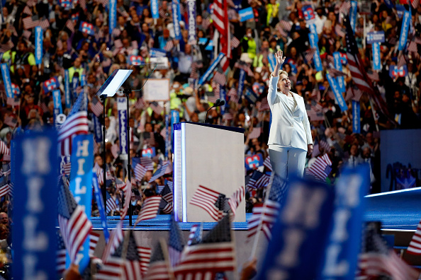 Democratic National Convention 2016「Democratic National Convention: Day Four」:写真・画像(8)[壁紙.com]