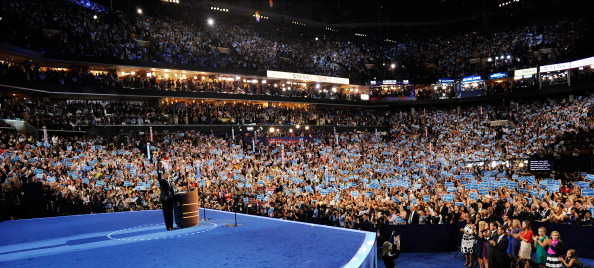 Panoramic「Obama Accepts Nomination On Final Day Of Democratic National Convention」:写真・画像(14)[壁紙.com]