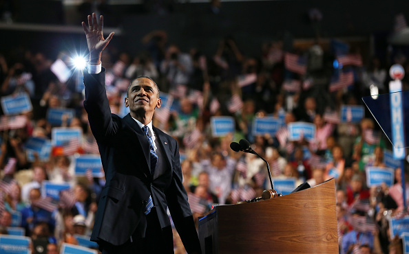 Nomination「Obama Accepts Nomination On Final Day Of Democratic National Convention」:写真・画像(1)[壁紙.com]