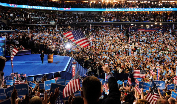 Democratic National Convention「Obama Accepts Nomination On Final Day Of Democratic National Convention」:写真・画像(6)[壁紙.com]