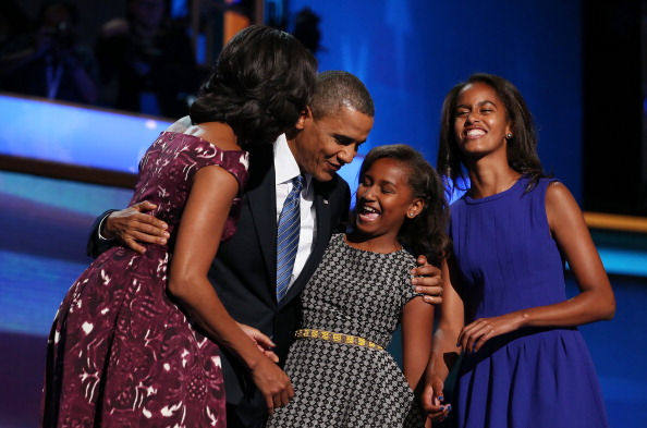 Family「Obama Accepts Nomination On Final Day Of Democratic National Convention」:写真・画像(7)[壁紙.com]