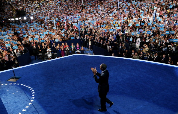 Win McNamee「Obama Accepts Nomination On Final Day Of Democratic National Convention」:写真・画像(16)[壁紙.com]