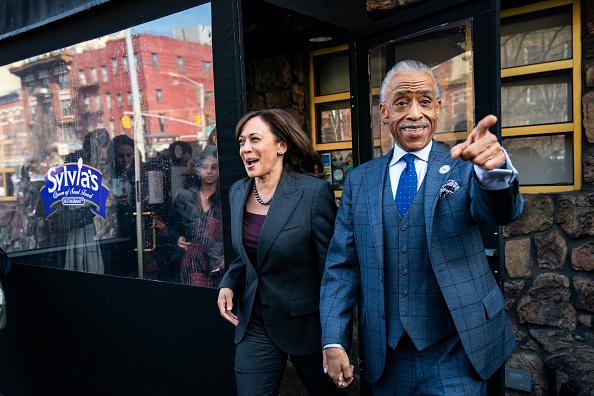 Al Sharpton「Democratic Presidential Candidate Sen. Kamala Harris Meets With Civil Rights Leader Al Sharpton In New York City」:写真・画像(2)[壁紙.com]