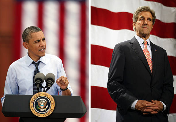 (FILE) Obama Names Senator John Kerry As Next US Secretary Of State:ニュース(壁紙.com)