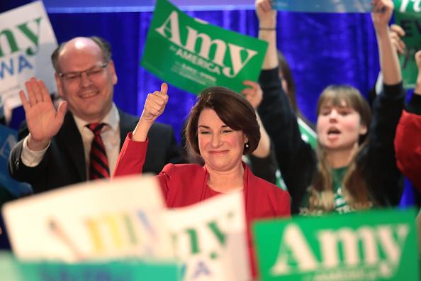 Husband「Sen. Amy Klobuchar Holds Iowa Caucus Night Watch Party」:写真・画像(17)[壁紙.com]