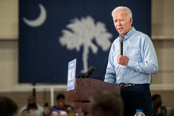 South Carolina「Joe Biden Holds Campaign Event In South Carolina」:写真・画像(9)[壁紙.com]