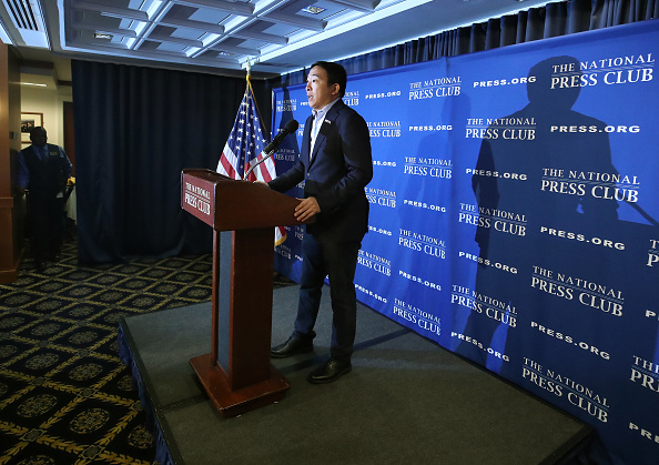 Automated「Presidential Candidate Andrew Yang Speaks At The National Press Club」:写真・画像(16)[壁紙.com]