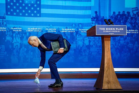 Full Length「Joe Biden Delivers Remarks On Coronavirus In Delaware」:写真・画像(9)[壁紙.com]