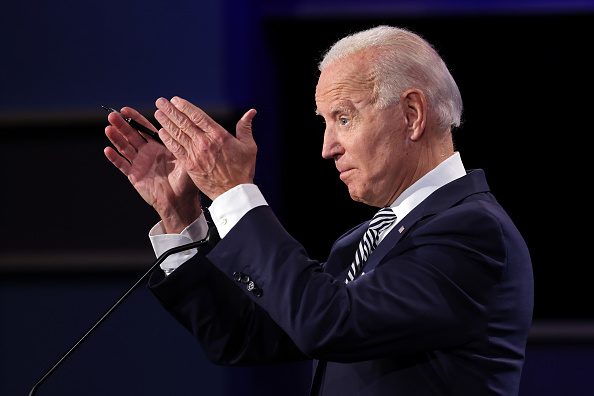 大統領選候補者討論会「Donald Trump And Joe Biden Participate In First Presidential Debate」:写真・画像(14)[壁紙.com]