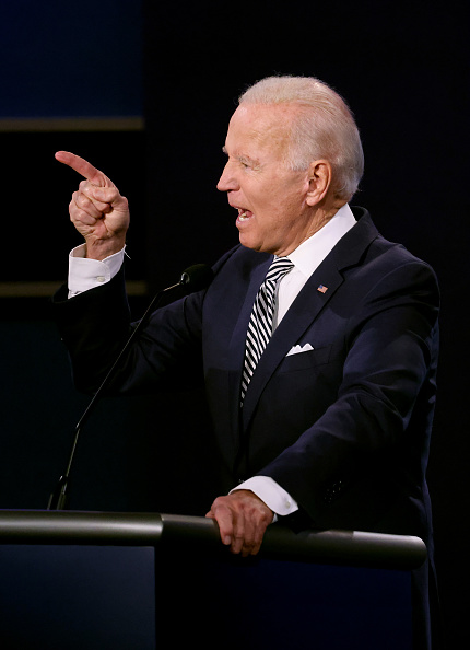 Participant「Donald Trump And Joe Biden Participate In First Presidential Debate」:写真・画像(1)[壁紙.com]