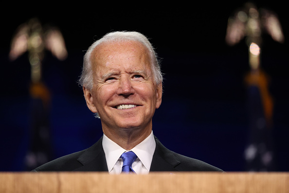 Smiling「Joe Biden Accepts Party's Nomination For President In Delaware During Virtual DNC」:写真・画像(15)[壁紙.com]