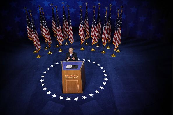 米国大統領選挙「Joe Biden Accepts Party's Nomination For President In Delaware During Virtual DNC」:写真・画像(10)[壁紙.com]