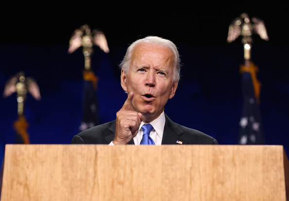 Speech「Joe Biden Accepts Party's Nomination For President In Delaware During Virtual DNC」:写真・画像(9)[壁紙.com]