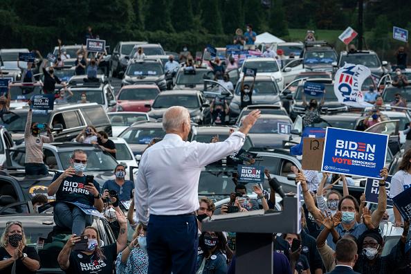 Atlanta - Georgia「Democratic Presidential Nominee Joe Biden Campaigns In Georgia」:写真・画像(11)[壁紙.com]