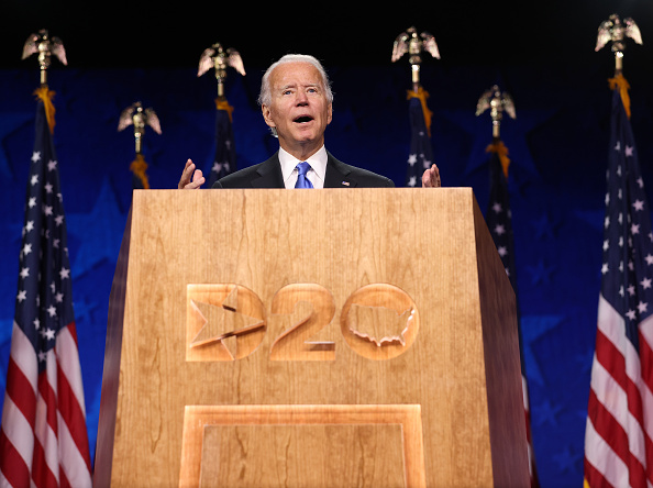Conference - Event「Joe Biden Accepts Party's Nomination For President In Delaware During Virtual DNC」:写真・画像(10)[壁紙.com]