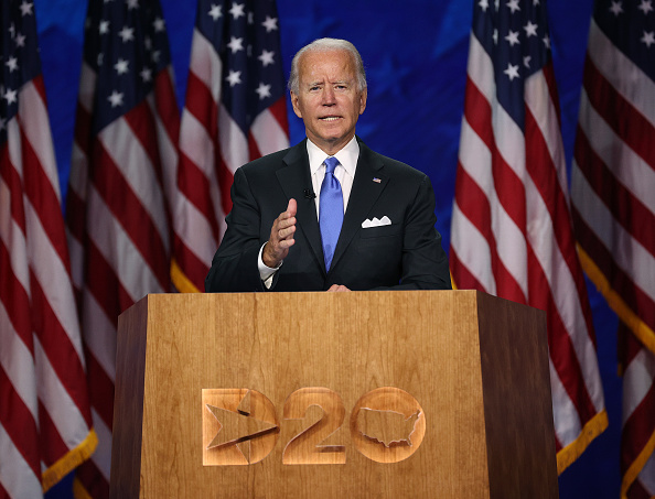 Conference - Event「Joe Biden Accepts Party's Nomination For President In Delaware During Virtual DNC」:写真・画像(2)[壁紙.com]