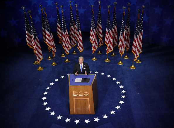 Democratic National Convention「Joe Biden Accepts Party's Nomination For President In Delaware During Virtual DNC」:写真・画像(12)[壁紙.com]