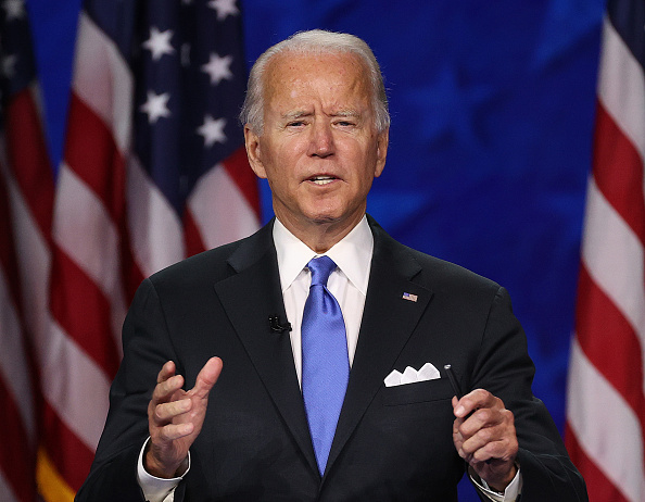Presidential Candidate「Joe Biden Accepts Party's Nomination For President In Delaware During Virtual DNC」:写真・画像(17)[壁紙.com]