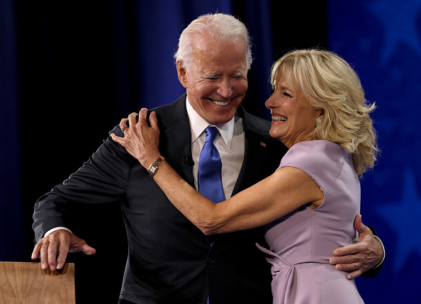 Wife「Joe Biden Accepts Party's Nomination For President In Delaware During Virtual DNC」:写真・画像(11)[壁紙.com]