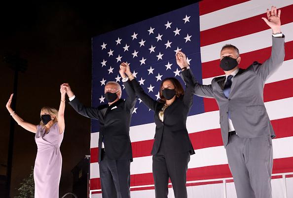 米国大統領選挙「Joe Biden Accepts Party's Nomination For President In Delaware During Virtual DNC」:写真・画像(17)[壁紙.com]