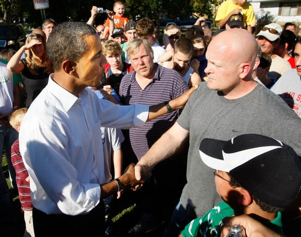 Joe Wurzelbacher「Barack Obama Heads To Ohio To Prepare For Final Debate」:写真・画像(3)[壁紙.com]