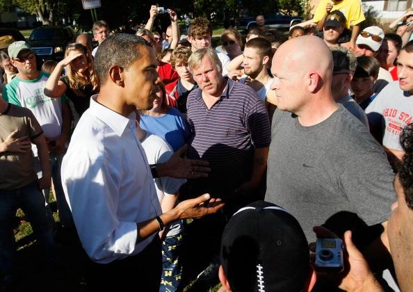 Joe Wurzelbacher「Barack Obama Heads To Ohio To Prepare For Final Debate」:写真・画像(2)[壁紙.com]
