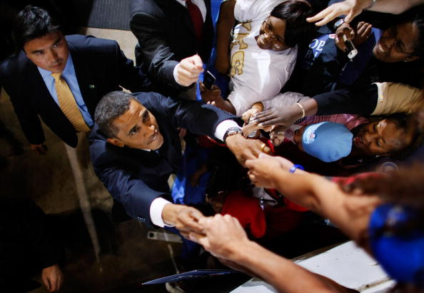 Bestof「Barack Obama Campaign Weeks Away From Election Day」:写真・画像(8)[壁紙.com]