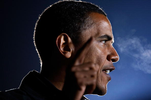 Profile View「Obama Campaigns Across The U.S. In Final Week Before Election」:写真・画像(4)[壁紙.com]