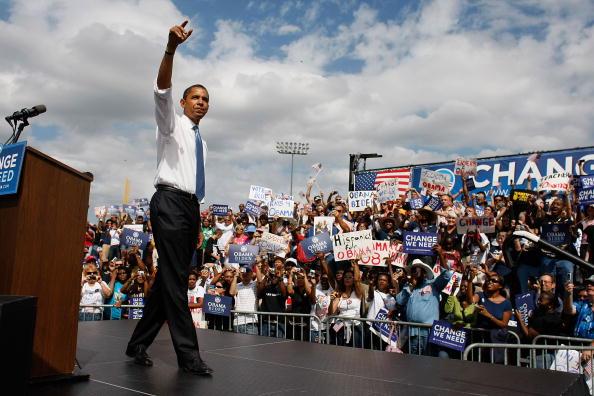 Event「Barack Obama Campaign Weeks Away From Election Day」:写真・画像(16)[壁紙.com]
