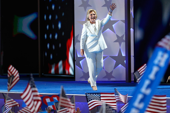 Full Length「Democratic National Convention: Day Four」:写真・画像(8)[壁紙.com]
