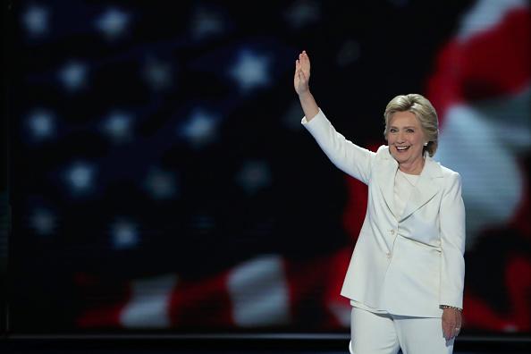 笑顔「Democratic National Convention: Day Four」:写真・画像(8)[壁紙.com]