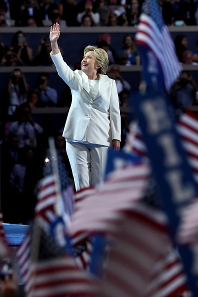 Philadelphia - Pennsylvania「Democratic National Convention: Day Four」:写真・画像(19)[壁紙.com]