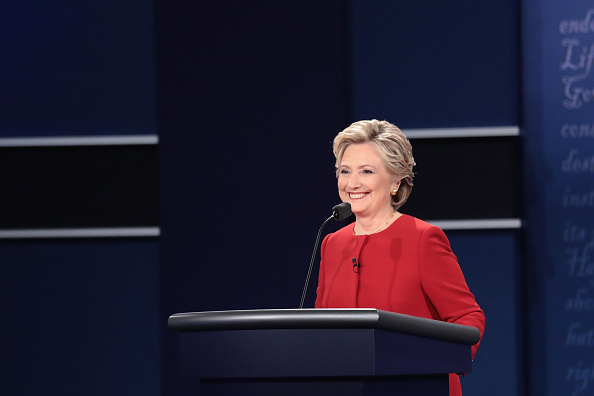 US Democratic Party 2016 Presidential Candidate「Hillary Clinton And Donald Trump Face Off In First Presidential Debate At Hofstra University」:写真・画像(9)[壁紙.com]