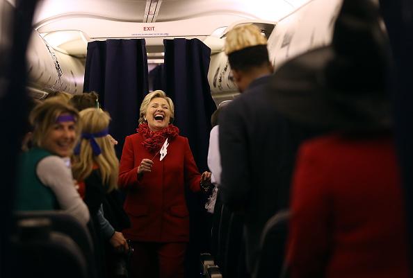 Humor「Hillary Clinton Campaigns In Ohio Ahead Of Election」:写真・画像(17)[壁紙.com]