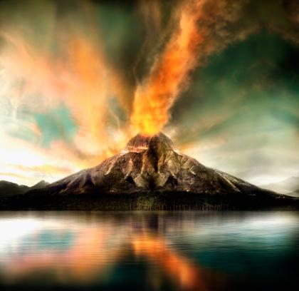 Active Volcano「Active volcano erupting」:スマホ壁紙(2)