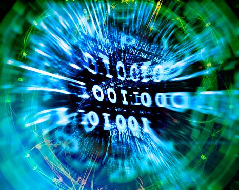 Dark Web「Binary numbers.」:スマホ壁紙(11)