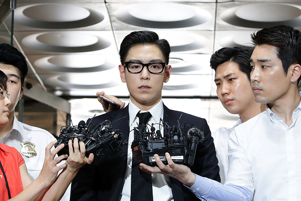 Arrival「BIGBANG Member T.O.P. Appears At Seoul Central District Court」:写真・画像(15)[壁紙.com]