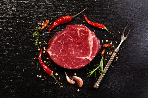 Raw Food「Raw beef steak」:スマホ壁紙(7)