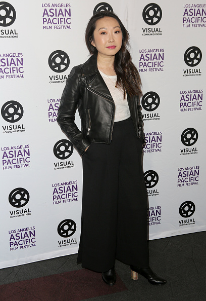 "Leather Jacket「35th LA Asian Pacific Film Festival  ""The Farewell"" Photo Call」:写真・画像(8)[壁紙.com]"