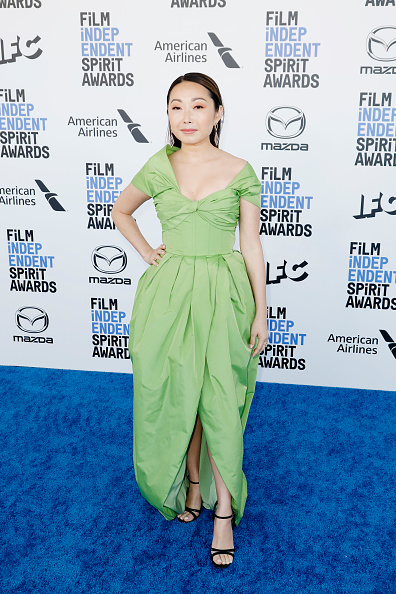 Asymmetric Dress「American Airlines at The 2020 Film Independent Spirit Awards」:写真・画像(16)[壁紙.com]