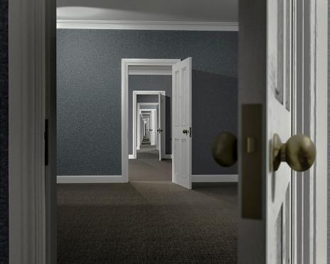 Diminishing Perspective「Endless series of adjoining rooms」:スマホ壁紙(18)