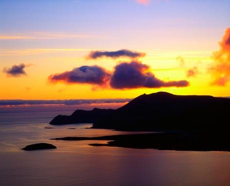 アキル島「Co Mayo, Achill Island, Sunset, Ireland」:スマホ壁紙(14)