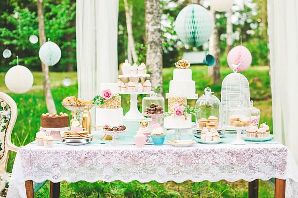 Prettiest wedding dessert table:スマホ壁紙(壁紙.com)